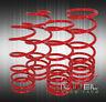 2006-2019 Mitsubishi Eclipse Jdm Suspension Sport Lowering Spring Lower Kit Red