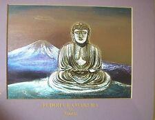 """ Buddha Kamakura "" dimensional foil print by Aeona"