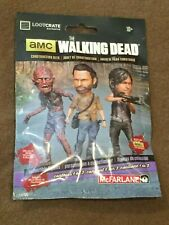 Loot Crate Exclusive AMC The Walking Dead Figure McFarlane Construction NEW MIP