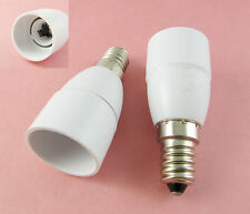 E14 to E14 Socket Base LED Halogen CFL Light Bulb Lamp Adapter Converter Holder