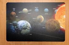 Schreibtischunterlage Sonnensystem Planeten 40 X 60 Cm Abwischbar Weltall