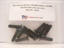 10 Pieces THFC-035 Insert Screw: GTS-2 .. SD-2 .. VR-2