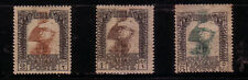 Lybia: 1921 Scott N° 20, 21, 22 hinged N° 22 Adh paper. LY02