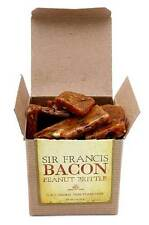 SIR FRANCIS BACON PEANUT BRITTLE - BACON PEANUTS CANDY CONFECTION 3 OZ GIFT BOX