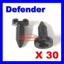 LAND ROVER DEFENDER DOOR PANEL TRIM CLIPS PLASTIC BLACK INTERIOR X30  MXC1800