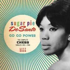 SUGAR PIE DeSANTO - GO GO POWER - COMPLETE CHESS SINGLES 1961-1966 - CDKEN 317