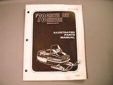 1978 Vintage Arctic Cat Cheetah Parts Manual