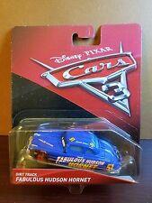 Disney Pixar Cars 3 Dirt Track Fabulous Hudson Hornet