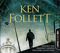 DER DRITTE ZWILLING - FOLLETT,KEN FOLLETT, KEN 4 CD NEW
