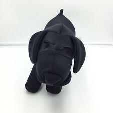 "Mogu Dog Plush Microbead Black 13"" Lab"