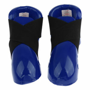 Boys Girls Taekwondo Foot Protector Gear, Martial Arts Fight Boxing Punch Bag