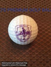 PING GOLF BALL-SOLID WHITE PING #1.8.8/10.WOMEN'S TRANS NATIONAL GOLF ASSO. LOGO