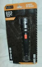 5.11 Tactical 53193 S+R A6 602 Lumen LED  Search & Rescue Flashlight NIP
