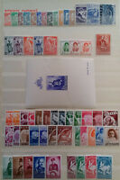 BULGARIA 1936/44 COMPLETE YEAR SETS COLLECTION WITH AIR-MAIL ISSUES, MNH, NICE!!