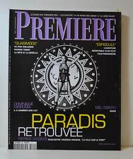 PREMIERE REVISTA (N°265) QUASIMODO - PARADIS - PATRICE LECONTE (CT301)