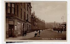 DOVEMOUNT PLACE, HAWICK: Roxburghshire postcard with Post Office (C27999)