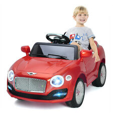 6V Kids Ride On Car Electric Battery Power RC Remote Control & Doors w/ MP3 Red