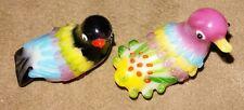 Art Glass China Bird Figurines