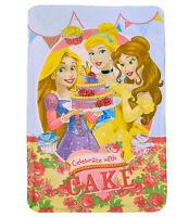 Disney Princess 'Cake' Fleece Blanket Throw
