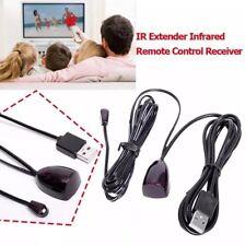 Receptor De Control Remoto Tv Infrarrojo IR Extender Repeater emisor señal USB 5V