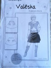 Farbenmix 'Valeska' Folklore-Rock Misses' Skirt Sewing Pattern S-XXL Germany