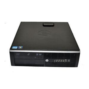 HP Compaq 8200 Elite SFF PC i7-2600@3.4GHz CPU 8GB RAM 1TB HDD WIN 10 Pro