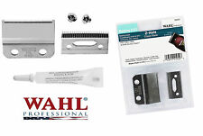 6x0 REPLACEMENT 2 Hole BLADE SET,Screws&Oil for Wahl 8110 5 Star Balding Clipper