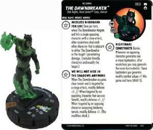 The Dawnbreaker #063 Rebirth DC Heroclix NM DC Heroclix: Rebirth