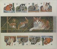 """Belgique, België, 3 Carnets de timbres """" Chat """" neufs MNH, bien"""