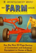Montgomery Ward 1967 Farm Catalog FULL COLOR Riding Garden Tractor 184pg Gilson