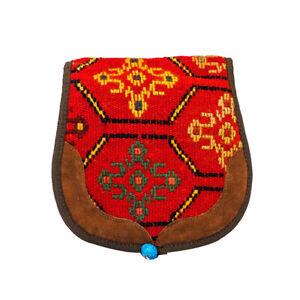 Boho Cross Body Bag Hand Embroidered Wool Kilim Bag Women's Handbag