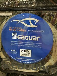Seaguar 200FC30 Blue Label Big Game Fluorocarbon Leader Material 200lb 30-Meter