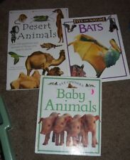 Lot of 8 Children's Nonfiction Animal/Wildlife Books