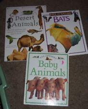 Lot of 8 Children's Nonfiction Animal/Wildlife Books