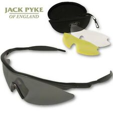 JACK PYKE PRO SPORT SHOOTING GLASSES PROTECTIVE AIRSOFT HUNTING CLAY PIGEON