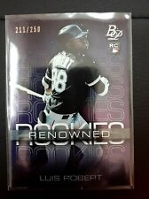 2020 Bowman Platinum Luis Robert Renowned Rookies #RR-3 /250 INVEST 📈📈 (READ)