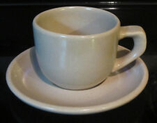 La Solana Taupe Cup & Saucer Ware Solanaware Mid Century Modern