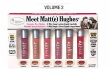 AUTHENTIC THE BALM COSMETICS MEET MATT(E) HUGHES LIQUID LIPSTICK 6 SET VOLUME 2