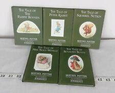 FIVE VINTAGE BEATRIX POTTER CHILDREN'S BOOKS...1987