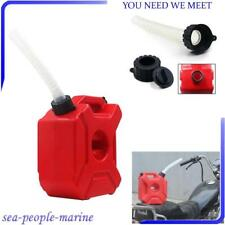 Style 3L Plastic Jerry Cans Gas Container Diesel Fuel Tank Car Motorcycle w/Lock