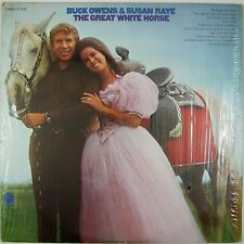 BUCK OWENS & SUSAN RAYE The Great White Horse LP 1970 COUNTRY NM- NM-