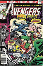 The Avengers Comic Book #155, Marvel Comics Group 1977 VERY FINE+