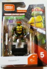 Mega Construx  Donatello Series 5  Figures - 27 Pcs New!