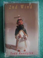 Todd Rundgren 2nd Wind 1991 Factory Sealed Cassette Love The Smell Of Money