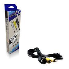 Retro-Bit 6 Feet S- Video RCA AV Cable For Sega Genesis1