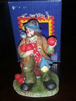 Emmett Kelly Jr Limited Edition Figurine  9875 Flambro 1998