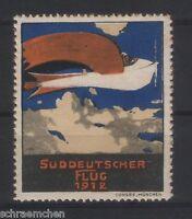 Süddeutscher Flug 1912 * Vignette *