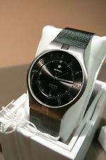 obaku titanium Men's Quartz Analogue Display Watch with Black Dial