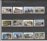 FRANCE 2019. BERN. SERIE COMPLETE DE 12 TIMBRES AUTOADHESIFS OBLITERES