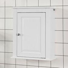 SoBuy® Meuble Haut de Salle de Bain-Placard Commode de Rangement  FRG203-W,FR